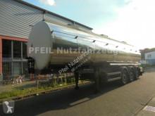 Remorca cisternă transport alimente Berger Santi Lebensmitteltank- 3 Kammern. 31.000 Liter