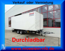 Reboque Möslein Tandem- Koffer- Anhänger, Durchladbar-- Wenig B furgão usado