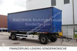 Remorca Schmitz Cargobull AWF 18/L-20 BDF + Wecon-Brücke Schiebeplane 7,30 cu prelata si obloane second-hand