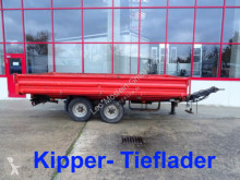 Remorque Müller-Mitteltal Tandemkipper- Tieflader benne occasion