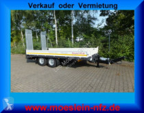 Möslein Neuer Tandemtieflader trailer new heavy equipment transport