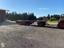 Remorca Fruehauf platformă transport baloti second-hand