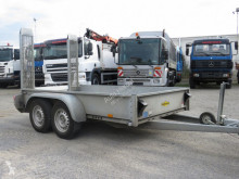 Humbaur Tieflader trailer used heavy equipment transport