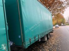 Krone Tandemanhänger trailer used tarp