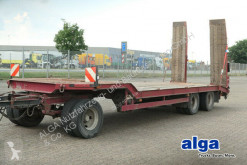 Langendorf heavy equipment transport trailer TUE 24/100-3, Rampen, 24to. Nutzlast, TÜV 06/21