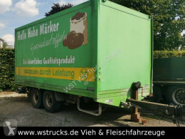 Westrick Tandem,TK010 Schiebeplane,ladebordwand trailer used box