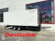 Remolque Möslein Tandem- Koffer- Anhänger, Durchladbar-- Wenig B furgón usado