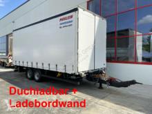 Rimorchio Möslein Tandem- Planenanhänger,Durchladbar + LBW cassone centinato usato