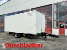 Remolque Möslein 4,5 t Kofferanhänger zum Durchladen -- Mautfrei furgón usado