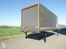 Used box container Krone Wechselkoffer Heck Alu.- Rolltor