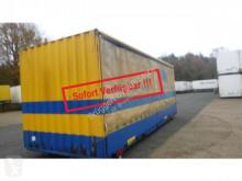 Used box container Krone Wechselkoffer Heck hohe Portaltüren