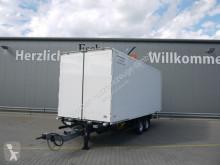 Möslein box trailer Tandem Durchladekoffer,14 Zurrösen,Trommelbremse