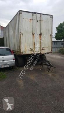 Schmitz Cargobull AWF 18 German Fahrzeug trailer used chassis