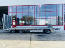 Reboque Möslein 3 Achs Tieflader- Anhänger Staplerrampe-- Wenig porta máquinas usado