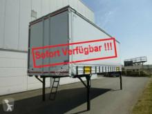 Krone Heck mit Portaltüren használt függönyponyvarolós felépítmény