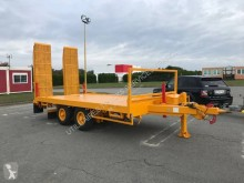 Courant heavy equipment transport trailer plateau porte engin