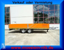 Möslein 13 t GG Tandemtieflader trailer used heavy equipment transport