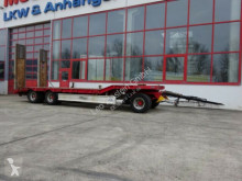 Used heavy equipment transport trailer nc 3 Achs Tieflader- Anhänger
