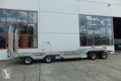 New heavy equipment transport trailer Möslein 4 Achs Tieflader mit Radmulden, Luftgefedert, A