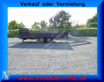 Fliegl Tandem- Prischen- Tiefladeranhänger trailer used heavy equipment transport