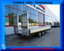 New heavy equipment transport trailer Möslein Neuer Tandemtieflader mit Breiten Rampen