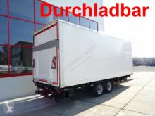 Reboque nc Tandemkofferanhänger mit LBW + Durchladbar furgão usado