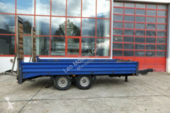 Used heavy equipment transport trailer Humbaur Tandemtieflader mit ABS
