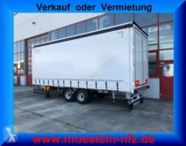New tarp trailer Möslein Tandem- Schiebeplanenanhänger, Ladungssicherung