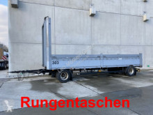 Rimorchio Schwarzmüller 2 Achs Jumbo- Pritschenanhänger mit Rungentasch cassone fisso usato