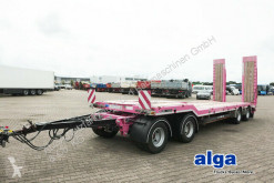 Used heavy equipment transport trailer Schwarzmüller G-Serie/SAF/40 t. gesamtgewicht/hydr. Rampen
