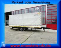 Used tarp trailer Möslein 1 Achs Planenanhänger