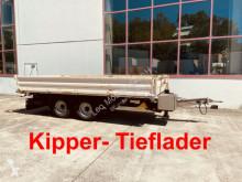 Remorque benne Müller-Mitteltal Tandemkipper- Tieflader