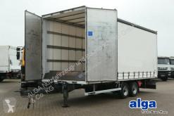 Used tarp trailer Ackermann Z-LA-F110 5/7 2E/7,4 m. lang/Durchlader/Türen