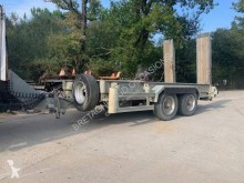 Ecim 2 essieux trailer used heavy equipment transport