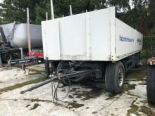 Remorque plateau ridelles occasion Schwarzmüller Baustoff Anhänger Scheibe ABS
