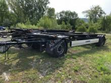 Přívěs Krone AZ 18 BDF Lafette Maxi ABS Luftfederung podvozek použitý