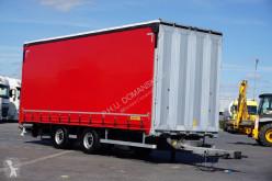 Used tarp trailer Wielton - TANDEM / PRZEJAZDOWA / DŁ. 8,1 M / 20 PALET