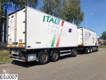Used mono temperature refrigerated trailer Samro Autonoom THermoking, EEV, Standairco, Airco,