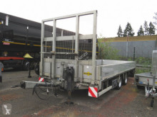 Humbaur Tieflader Rampen trailer used heavy equipment transport