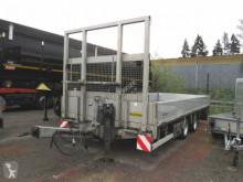 Reboque Humbaur Tieflader Rampen porta máquinas usado