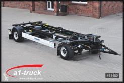 Remorque Krone AZW 18 BDF Maxi, Jumbo ALU, langer Hub châssis occasion
