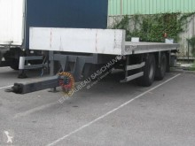Asca trailer used straw carrier flatbed