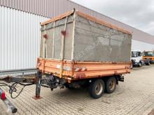 全挂车 侧帘式 无公告 EDU-TA 8.6 EDU-TA 8.6 mit Grünschnittaufbau ca. 19m³, Ex-Stadtverwaltung