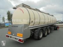 Remolque cisterna alimentario Feldbinder Drucktank- Heizung- Pumpe- 33.000 Liter