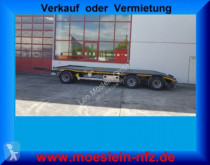 Möslein 3 Achs Tiefladeranhänger + Muldenanhänger trailer new heavy equipment transport