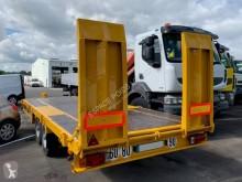 Gilibert RPE 211 PLATEAU BASCULANT trailer used heavy equipment transport