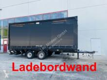 Tarp trailer Tandemplanenanhänger mit Ladebordwand