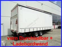 Möslein tarp trailer Tandem- SchiebeplanenanhängerDurchlad + Lade