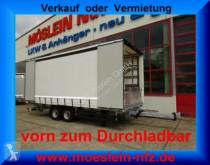 Прицеп Möslein Tandem- Schiebeplanenanhänger, DurchladenLadung тентованный новый