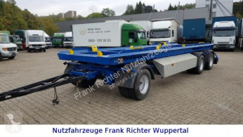 Container trailer Jung, 2xAbs.Cont. möglich,Zwillingsber.,Tüv Neu!